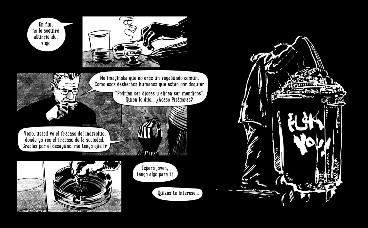 webcomic Le Noeud p12